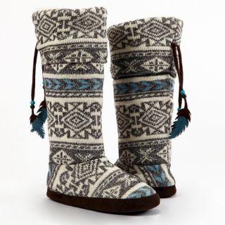 Muk Luks Winona Tall Slipper Boot   Womens Slippers