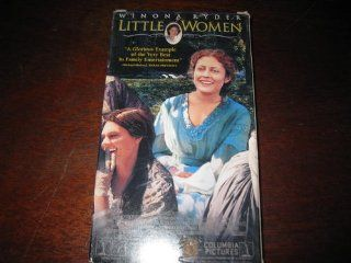 Little Women [VHS] Susan Sarandon, Winona Ryder, Kirsten Dunst, Claire Danes, Gabriel Byrne, Trini Alvarado, Samantha Mathis, Christian Bale, Eric Stoltz, John Neville, Mary Wickes, Florence Paterson, Geoffrey Simpson, Gillian Armstrong, Nicholas Beauman,