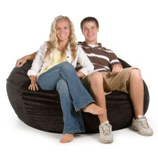 Small Sofa Comfort Sac Corduroy Foam Bean Bag   Bean Bags