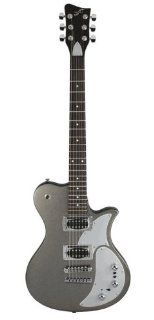 First Act Single Cutaway Electric Guitar with V Stack Preamp Musical Instruments