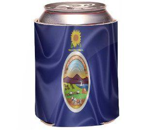 Rikki KnightTM Kansas State Flag Design Drinks Cooler Neoprene Koozie Kitchen & Dining