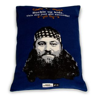 Duck Dynasty   Willie   Character Quote Buckle Pet Bed Up 27 x 36 Softies Blue   Dog Beds