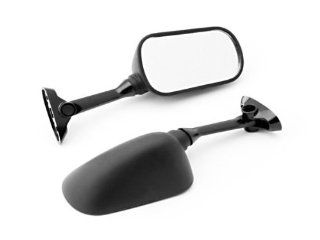 (2000 2012) Suzuki GSXR 600 / 750 / 1000 Black OEM Stock Style Racing Mirrors   Left & Right Set: Automotive