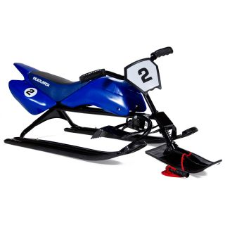 Lucky Bums Kids Snow Racer Extreme Sled   Blue   Sleds