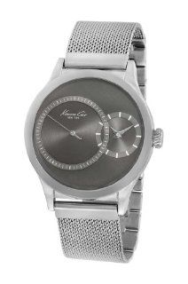 Kenneth Cole New York Men's KC9175 Classic Brushed Gunmetal Dial Sub Second Watch at  Men's Watch store.