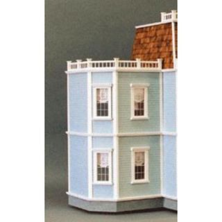 Real Good Toys Newport 2 Story Addition Kit   1 Inch Scale   Collector Dollhouse Accessories
