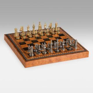 Gothic Fantasy Metal Chess Set   Chess Sets