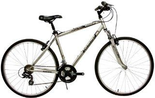 Columbia Journey Hybrid Bike, Silver, 19 Inch Frame Sports & Outdoors
