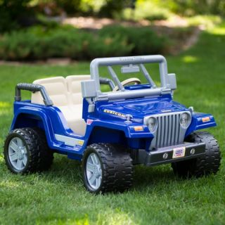 Fisher Price Power Wheels Power Wheels Jeep Wrangler Rubicon Battery Powered Riding Toy   Battery Powered Riding Toys