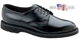 Thorogood 834 6027 Men's Classic Leather Oxford Shoe Black Thorogood Postman Shoes