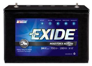 Exide RF 31E ROADFORCE AGM 200 Sealed Maintenance Free (AGM) Heavy Duty/Commercial Battery: Automotive