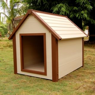 ecoConcepts Canine Cottage Hi R Insulated Dog House   Dog Houses