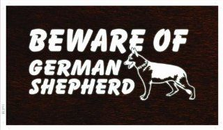 ADV PRO ba838 Beware of German Shepherd Dog Banner Shop Sign   Prints
