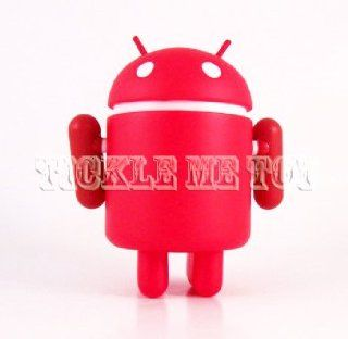 Android Series 3 Google Solid Red Mini Figure By Andrew Bell