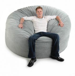Jaxx Giant Sac   Pebble Corduroy Large Foam Sofa   Bean Bags