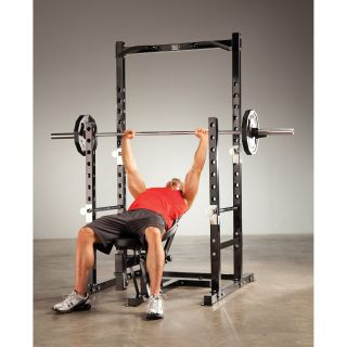 Marcy Platinum Power Rack with Optional Attachments   Cages and Racks
