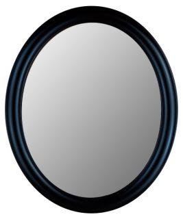 Hitchcock Butterfield Premier Series Oval Wall Mirror   771   True Black   Wall Mirrors