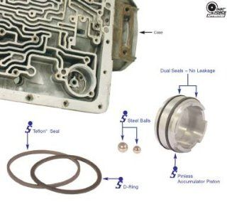 Sonnax 4L60 4L60E 4L65 E & 4L70 E Pinless Accumulator Piston Kit Automotive