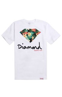 Mens Diamond Supply Co T Shirts   Diamond Supply Co Maui Script Logo T Shirt