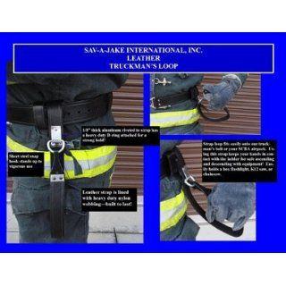 Sav A Jake Firefighter Gear Tools Leather Truckman's Tool Loop Science Lab Emergency Response Equipment Industrial & Scientific