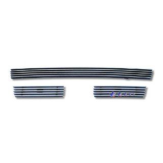 Toyota Tacoma 1998 1999 2000 Black Aluminum Grille   Upper Insert: Automotive