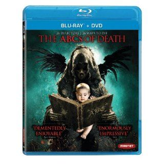 The ABC's of Death Combo Pack [Blu ray+DVD]: Erik Aude, Kyra Zagorsky, Ti West, Jason Eisener, Adam Wingard, Nacho Vigalondo, Ben Wheatley, Adri�n Garc�a Bogliano: Movies & TV