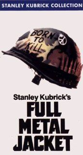 Full Metal Jacket [VHS] Matthew Modine, R. Lee Ermey, Vincent D'Onofrio, Adam Baldwin, Dorian Harewood, Kevyn Major Howard, Arliss Howard, Ed O'Ross, John Terry, Kieron Jecchinis, Kirk Taylor, Tim Colceri, Stanley Kubrick, Jan Harlan, Michael Herr