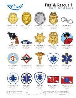 OESD Embroidery Machine Designs Fire & Rescue 1 #11120