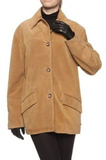 Cristiano di Thiene Leather Jacket ARIETE, Color: Light Brown, Size: 38 at  Women�s Clothing store: Leather Outerwear Jackets