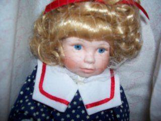 Marie Osmond Fine Porcelain Doll Gabriela 1992 Annual Edition