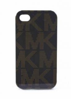 Michael Kors Monogram Brown Iphone Phone 4 4s Hard Case New in Box Clothing