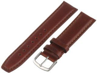 Hadley Roma Men's MSM881RAC 190 19 mm Honey Oil Tan Leather Watch Strap Hadley Roma Watches
