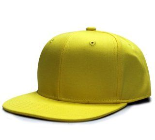 City Hunter Cf919 Cotton Solid Snapback   Yellow : Other Products : Everything Else