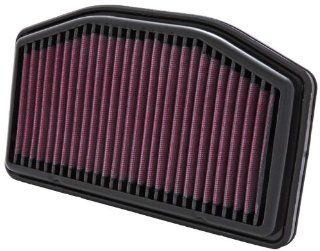 Yamaha R1 2009 12 K&N High Performance OEM Replacement Air Filter: Automotive