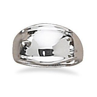 925 Sterling Silver Chevron Ring: West Coast Jewelry: Jewelry