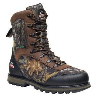 """Mens Mossy Oak Camo Boots Waterproof Insulated MO 9"""" Hiker Hunting 8 1/2  Camouflage Hunting Apparel  Sports & Outdoors"""