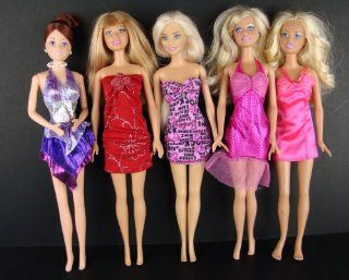 Group of 5 Outfits Very Fun and Fancy Made to Fit the Barbie Doll Toys & Games
