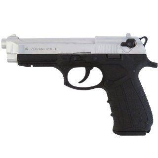 M918 Front Firing Blank Gun, chrome
