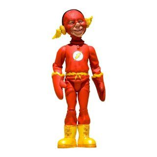 DC Collectibles Just Us League of Stupid Heroes: Series 2: Alfred E. Neuman as The Flash Action Figure: Toys & Games