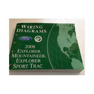 2008 Ford Explorer Mercury Mountaineer Wiring Diagram Manual Original Ford Books