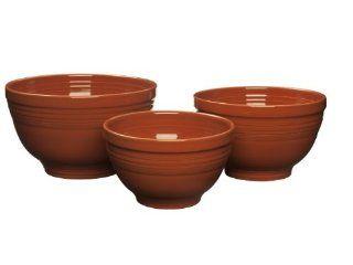 Fiesta 967 334 3 Piece Baking Bowl Set, Paprika Kitchen & Dining