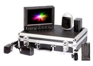 ikan VX7i Field Monitor Deluxe Kit with Canon 900 Battery Plate : Professional Video Stabilizers : Camera & Photo