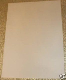 10 x A4 Sheet White Glow In The Dark Iron On Fabric Transfer