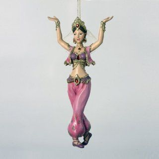 Sexy Girl DANCER Arabian Harem style Figural Ornament Christmas Holiday Decor   Christmas Ball Ornaments