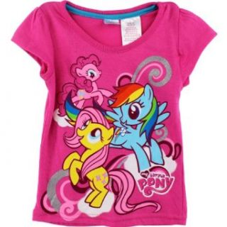 "My Little Pony ""Rainbow Dash"" Pink Short Sleeve Tee Shirt 2T 5T (2T): Fashion T Shirts: Clothing"