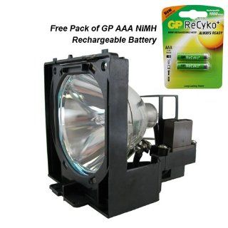 Powerwarehouse replacement lamp for EIKI LC X990 200W 2000Hr with Free GP AAA Battery: Electronics