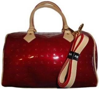 Women's Arcadia Leather Purse Handbag Onion Red/Natural Clothing