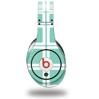 Squared Seafoam Green Decal Style Skin (fits ORIGINAL Beats Studio Headphones   HEADPHONES NOT INCLUDED): Everything Else