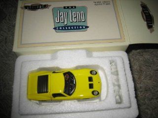 Hot Wheels   Legends   The Jay Leno Collection   Lamborghini Miura Car Replica   Yellow Body Color: Toys & Games