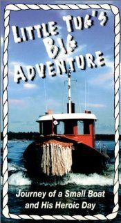 Little Tug's Big Adventure [VHS]: Boats of Hempstead Harbor, John Duvall: Movies & TV